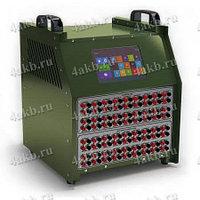 Контрольно-измерительный блок анализа состояния АКБ на 36 каналов с сенсорным экраном