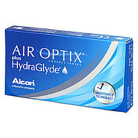 Контактные линзы +1 50 Air Optix plus HydraGlyde