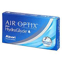 Контактные линзы +6,00 Air Optix plus HydraGlyde
