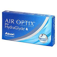 Контактные линзы -4,00 Air Optix plus HydraGlyde
