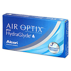 Контактные линзы -6,00 Air Optix plus HydraGlyde