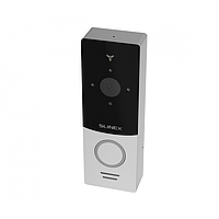 Slinex ML-20IP цвет черный + серебро. IP видеопанель, с переадресацией вызова на смартфон