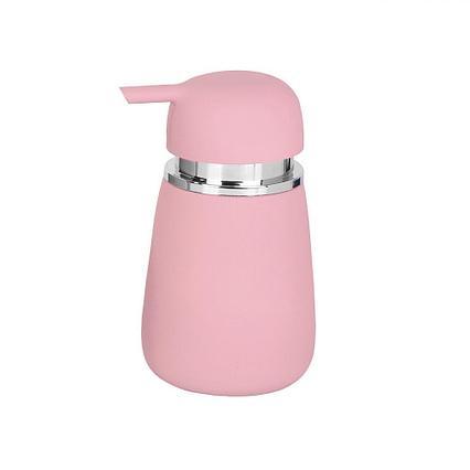 Дозатор для жидкого мыла Аквалиния Листок мятный CE2130DA-LD розовый, B4333A-1P