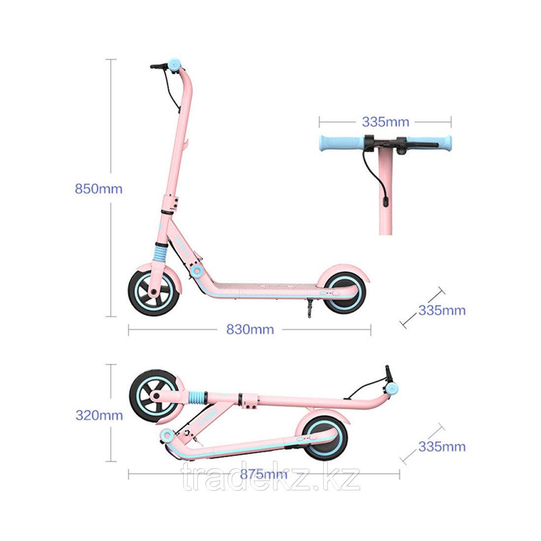 Электросамокат детский Ninebot KickScooter E8 Розовый - фото 3