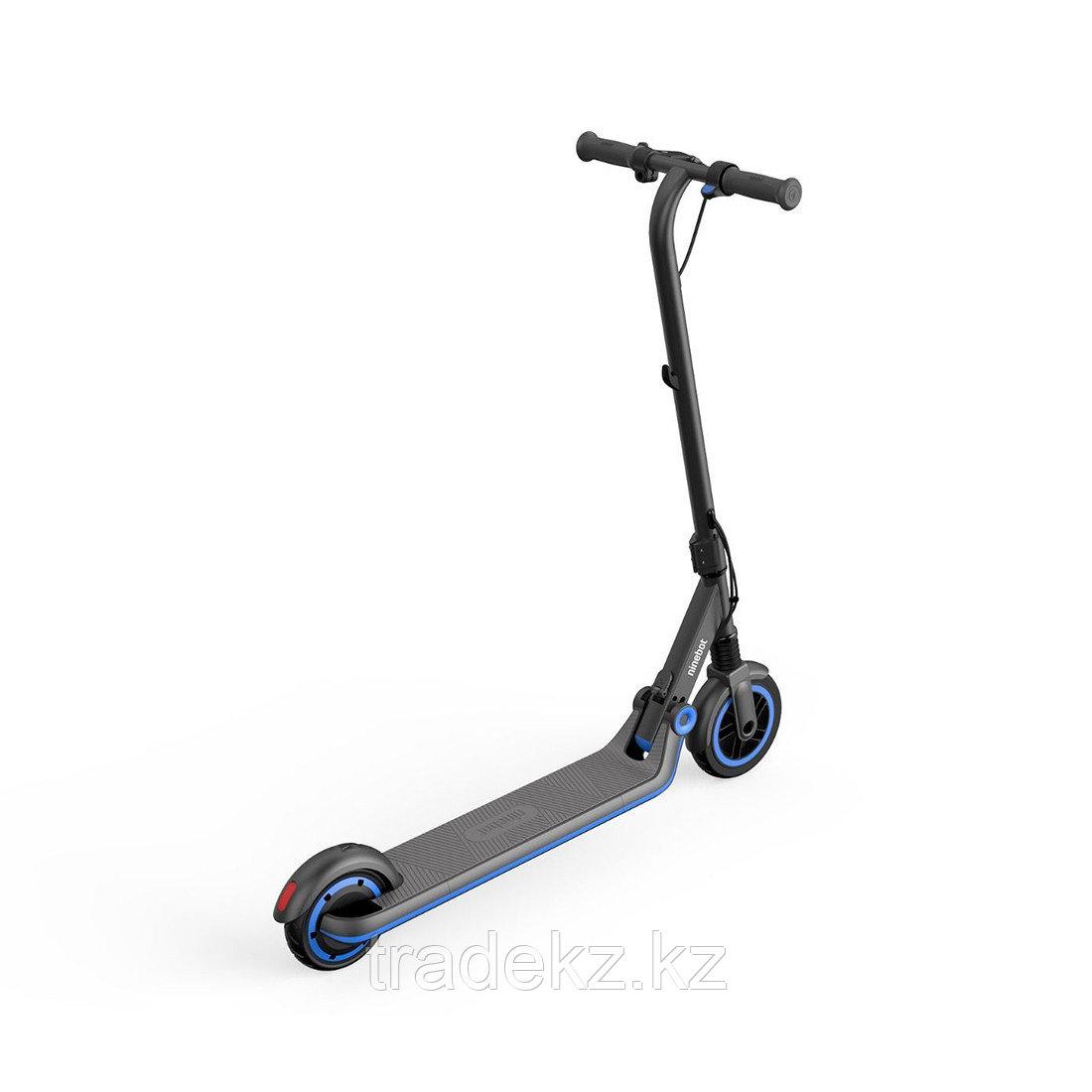 Электросамокат детский Ninebot KickScooter E10 Серый - фото 3
