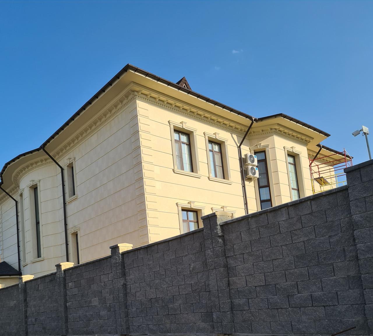 Декор для фасада армированный пенопласт обрамление окон карнизы колонны Пилястра угловые элементы - фото 8