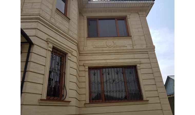 Декор для фасада армированный пенопласт обрамление окон карнизы колонны Пилястра угловые элементы - фото 1