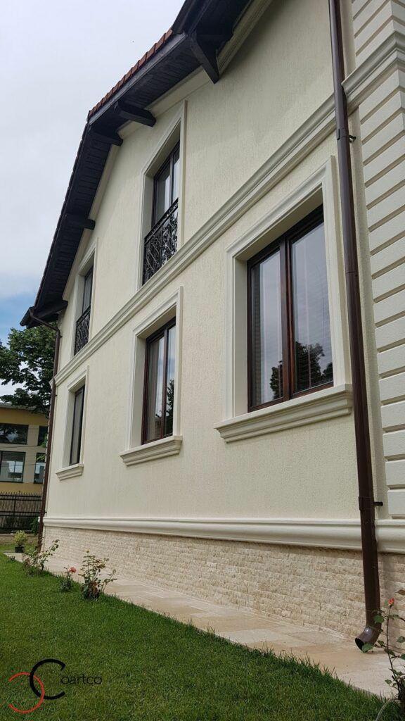 Декор для фасада армированный пенопласт обрамление окон карнизы колонны Пилястра угловые элементы - фото 5