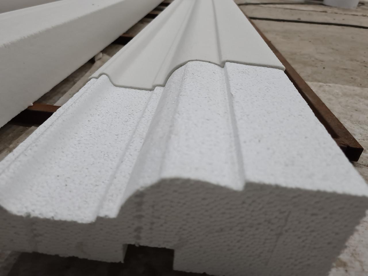 Декор для фасада армированный пенопласт обрамление окон карнизы колонны Пилястра угловые элементы - фото 7