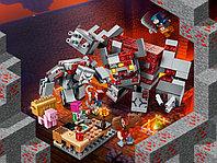 LEGO Minecraft 21163 Битва за красную пыль, конструктор ЛЕГО