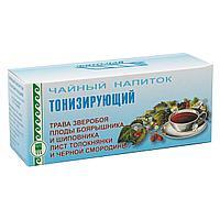 Напиток чайный «Тонизирующий», пакетики с сухой смесью, 60 г