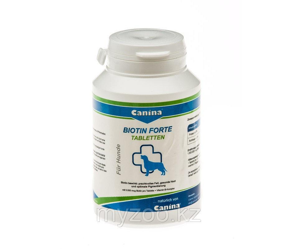 CANINA Biotin Forte Tabletten, 60 таб. уп. 200 гр. |Канина Биотин Форте Таблетин|