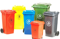 Пластиковые баки мусорные