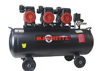Компрессор воздушный безмаслянный Magnetta BW600H3-100