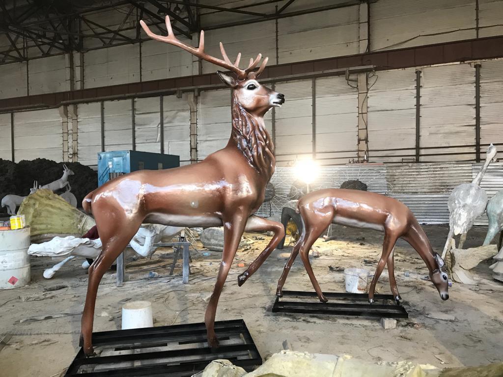 Скульптуры из пластика - фото 2