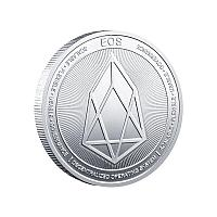 Сувенирная монета Eos, серебро, толщина 3 мм