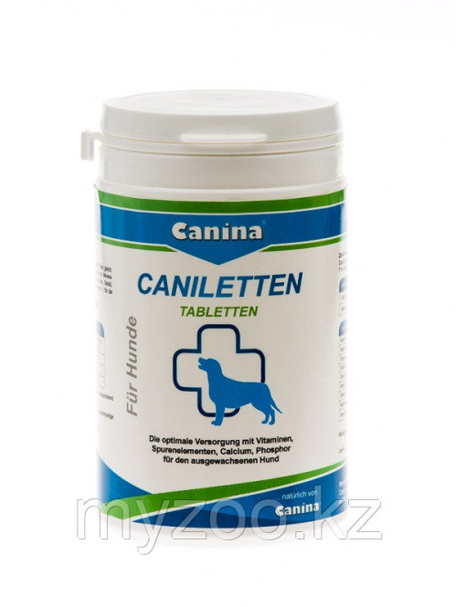 CANINA Caniletten Tabletten, 150 табл. 300 гр. |Канина Канилеттен|