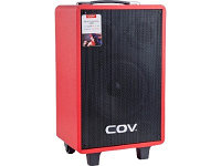 Портативная колонка COV CV-107 красный