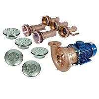 Гидромассаж Fitstar Combi-Whirl 8610020 (220/380 В, 4,0 Квт) компл: насос, 3 форсунки, 2 водозабора