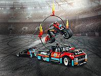 LEGO Technic 42106 Шоу трюков на грузовиках и мотоциклах, конструктор ЛЕГО