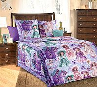 ТексДизайн Комплект постельного белья Куклы, 1.5 спальный , бязь