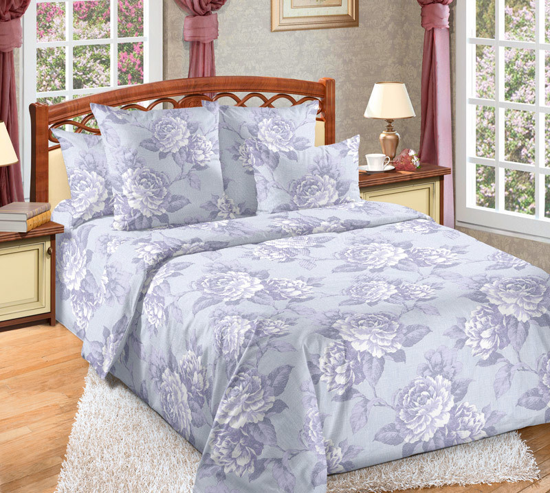 ТексДизайн Комплект постельного белья Мира 2, 1.5 спальный , бязь