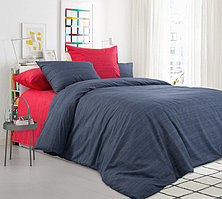 ТексДизайн Комплект постельного белья Бушующий вулкан, 1.5 спальный , бязь