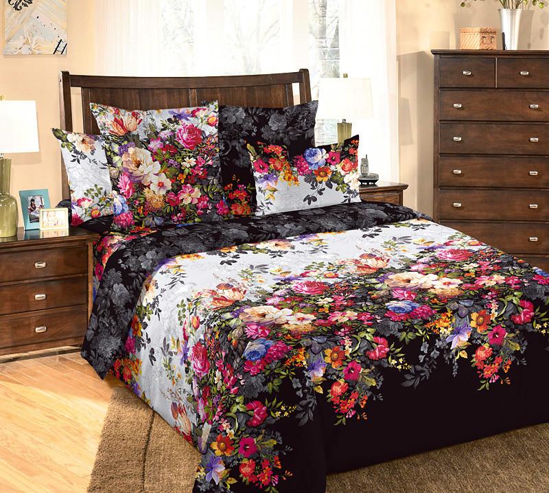 ТексДизайн Комплект постельного белья Марго 1, 1.5 спальный , бязь