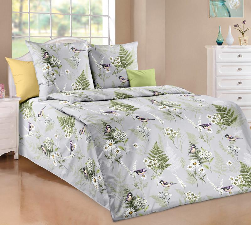 ТексДизайн Комплект постельного белья Лесные шорохи 1, 1.5 спальный , бязь