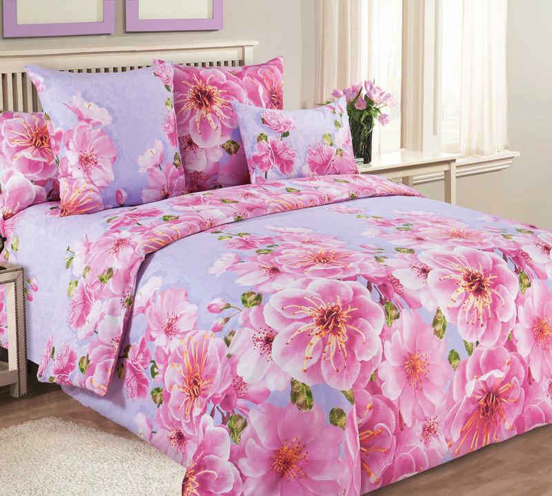 ТексДизайн Комплект постельного белья Миндаль 1, 1.5 спальный , бязь