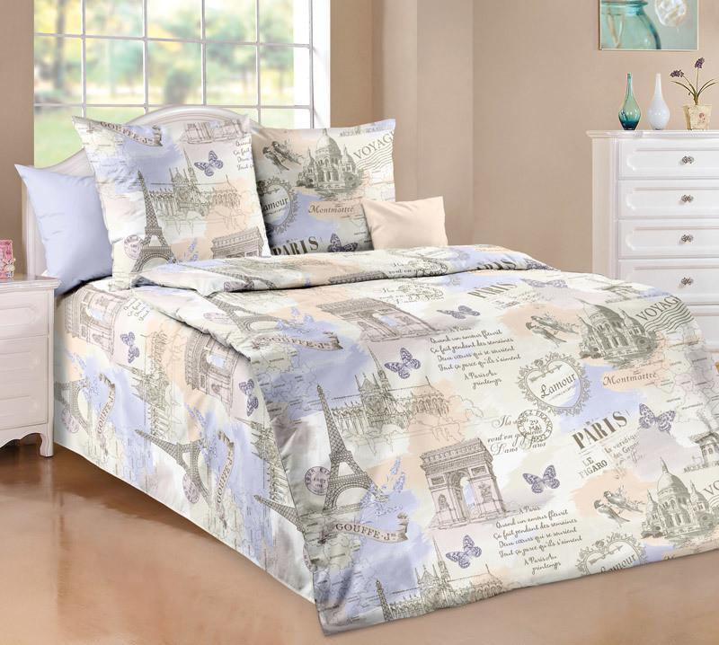 ТексДизайн Комплект постельного белья Вояж, 1.5 спальный , бязь