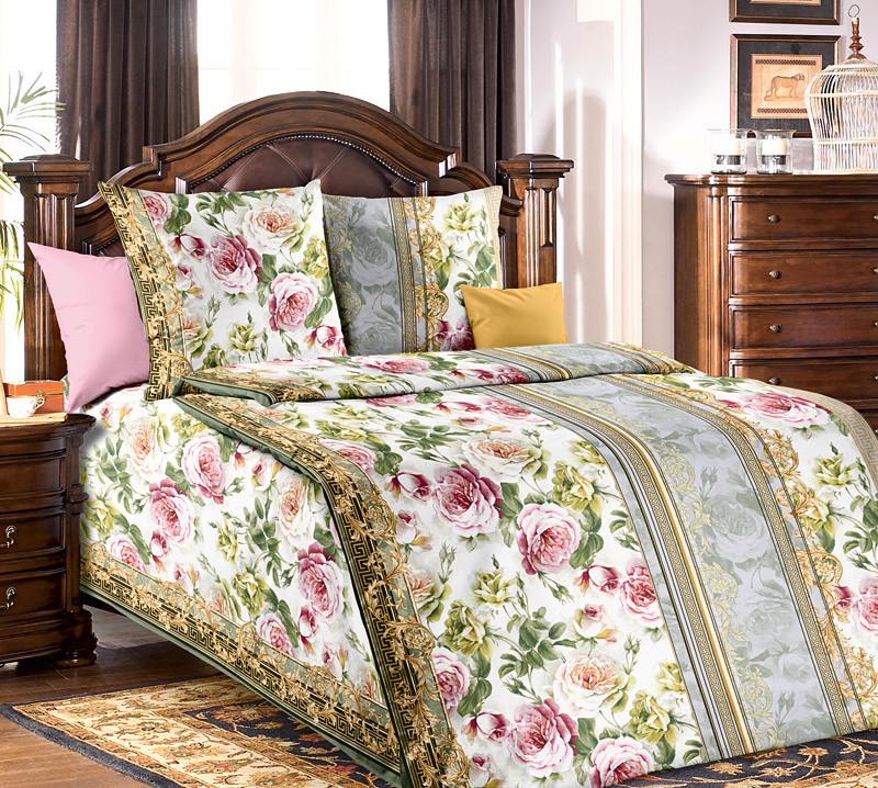 ТексДизайн Комплект постельного белья Адель 1, 1.5 спальный , бязь
