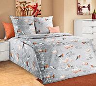 ТексДизайн Комплект постельного белья Музыка леса 1, 1.5 спальный , бязь