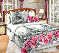 ТексДизайн Комплект постельного белья Ностальжи 1, 1.5 спальный , бязь