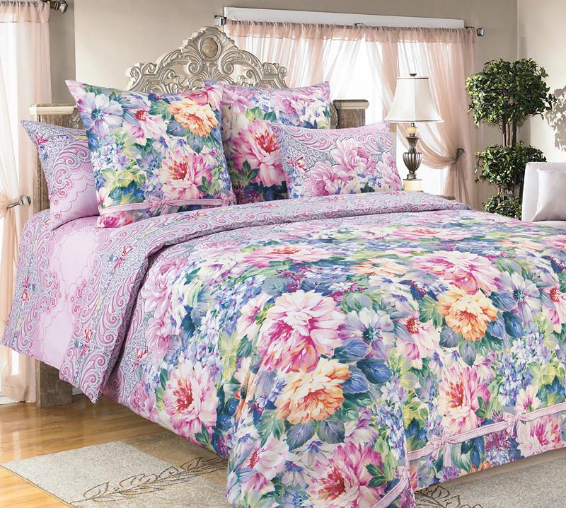 ТексДизайн Комплект постельного белья Влюбленность 1, 1.5 спальный , бязь
