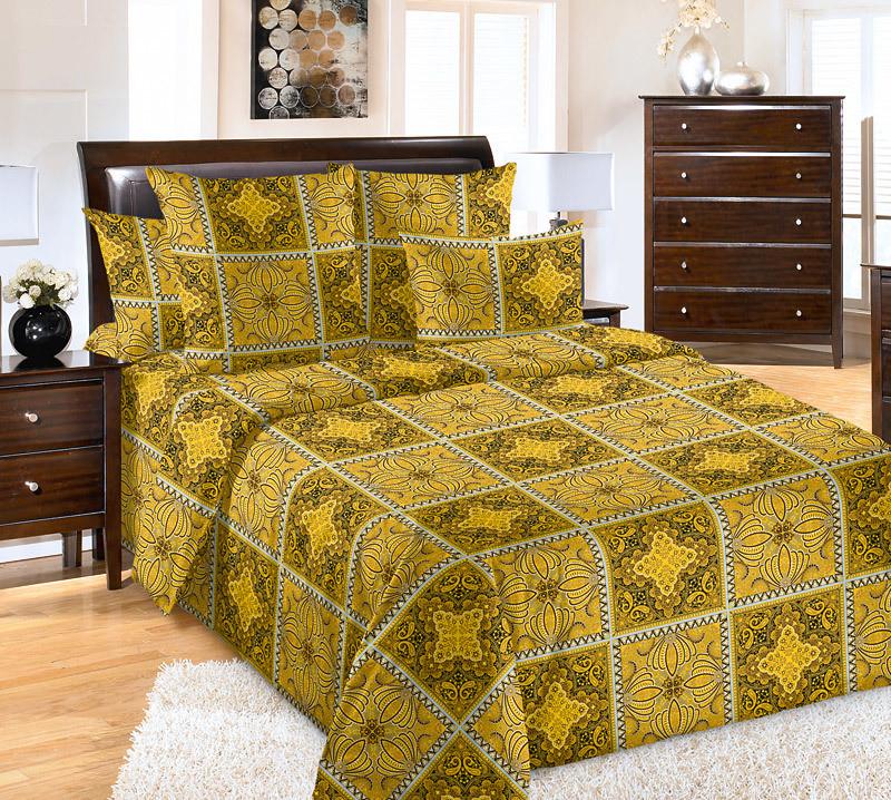 ТексДизайн Комплект постельного белья Возрождение 1, 1.5 спальный , бязь