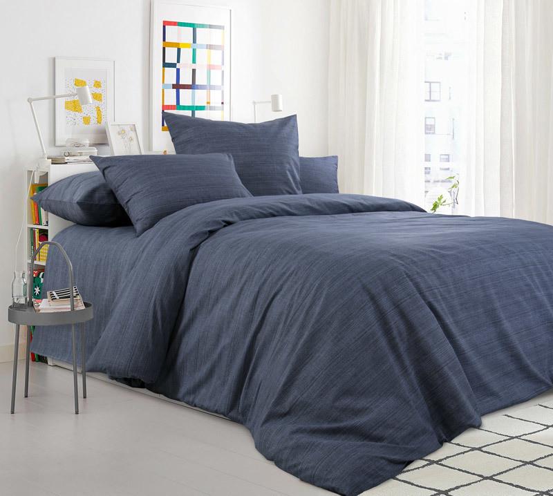 ТексДизайн Комплект постельного белья Графитовый камень, 1.5 спальный , бязь
