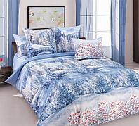 ТексДизайн Комплект постельного белья Зима 1, 1.5 спальный , бязь