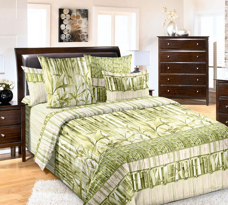 ТексДизайн Комплект постельного белья Бамбук 1, 1.5 спальный , бязь