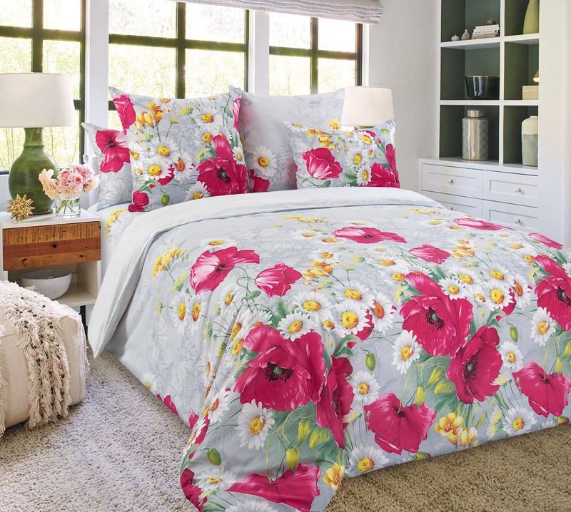 ТексДизайн Комплект постельного белья Волшебные краски 2, 1.5 спальный , бязь
