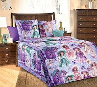 Белиссимо КПБ Куклы, 1.5 спальный , бязь ТексДизайн