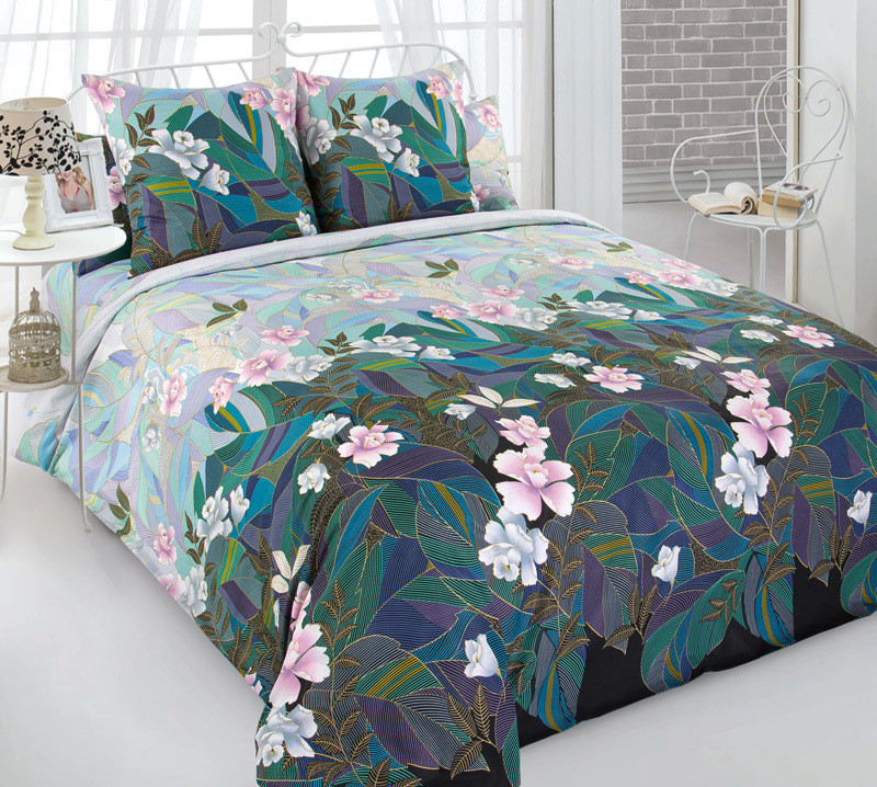 ТексДизайн Комплект постельного белья Восходящее солнце 1, 1.5 спальный , бязь