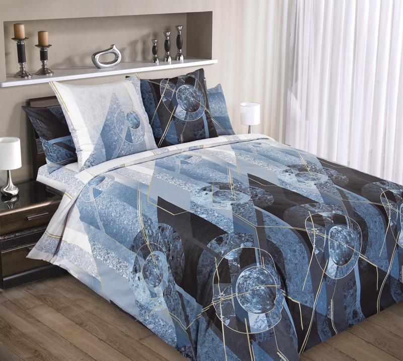 ТексДизайн Комплект постельного белья Меркурий 5, 1.5 спальный , бязь