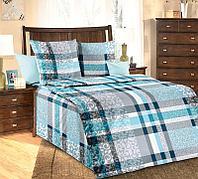 ТексДизайн Комплект постельного белья Бруно 1, 1.5 спальный , бязь