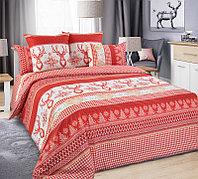 ТексДизайн Комплект постельного белья Лапландия 1, 1.5 спальный , бязь