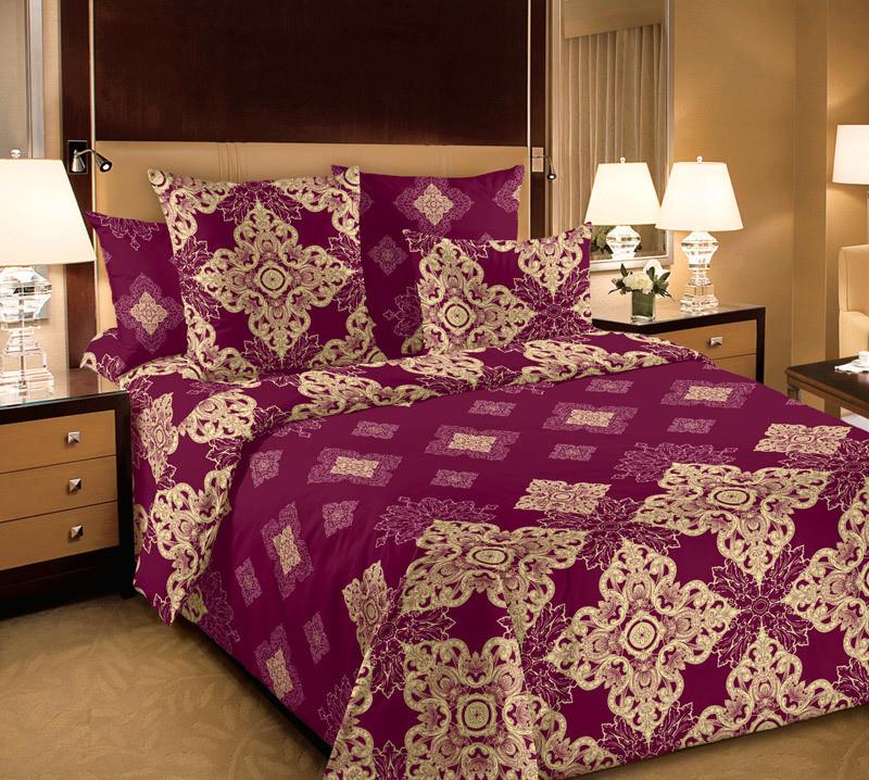 ТексДизайн Комплект постельного белья Мартин 1, 1.5 спальный , бязь
