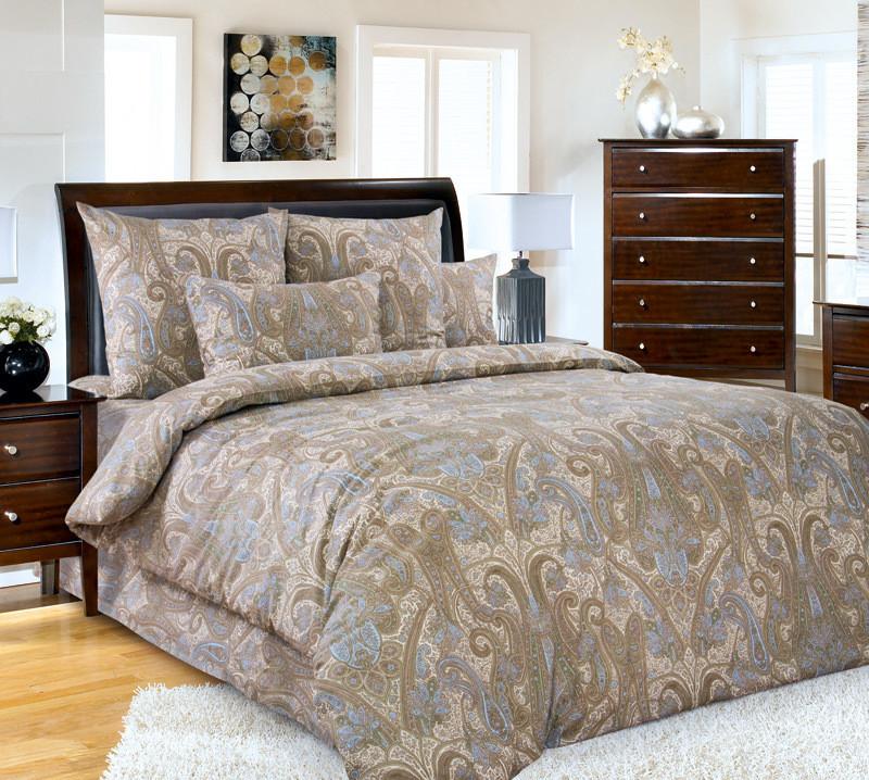ТексДизайн Комплект постельного белья  Кашмир  2 спальный евро, перкаль