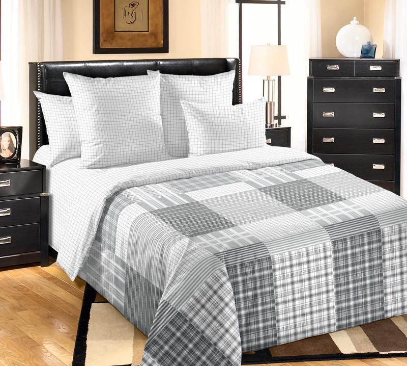ТексДизайн Комплект постельного белья  Марко  2 спальный евро, перкаль