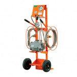 DILO 3-001-4-R022—устройство для откачки воздуха и заполнения элегазом (с весами)