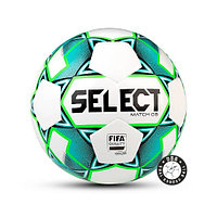 Мяч футбольный Select Match DB №5 white/green/black